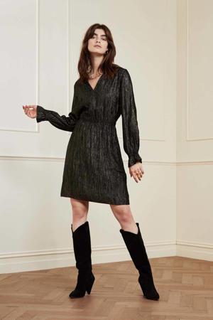 jurk Studio  met glitters zwart