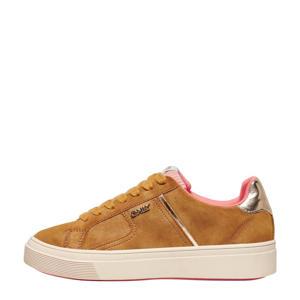 ONLSUBLIME-1  plateau sneakers bruin/oker