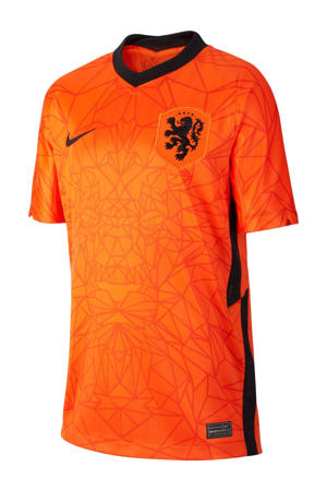 Junior Nederland voetbalshirt oranje/zwart