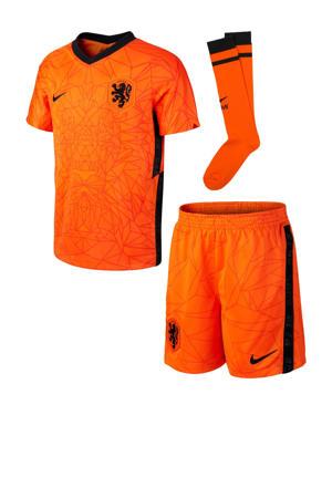 Junior Nederland sportset oranje/zwart