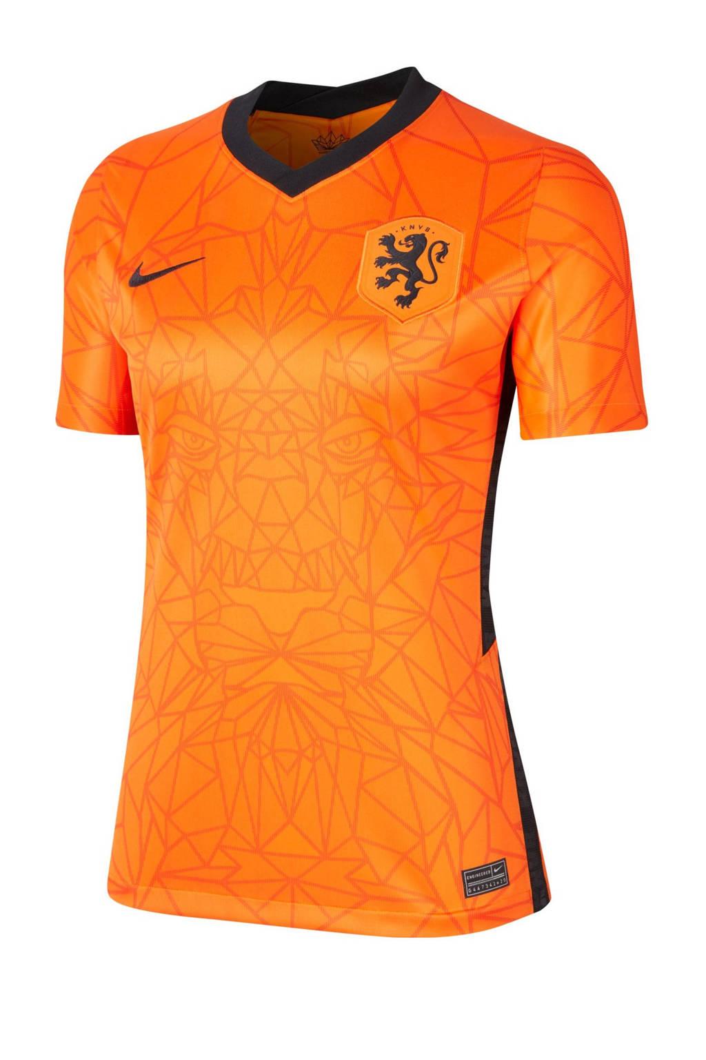 Nike Nederland voetbalshirt oranje/zwart, Oranje/zwart