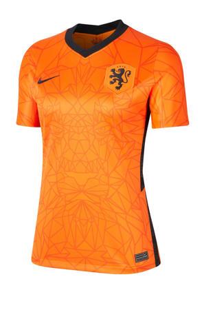 Nederland voetbalshirt oranje/zwart