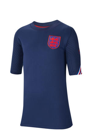 Junior Engeland voetbalshirt donkerblauw