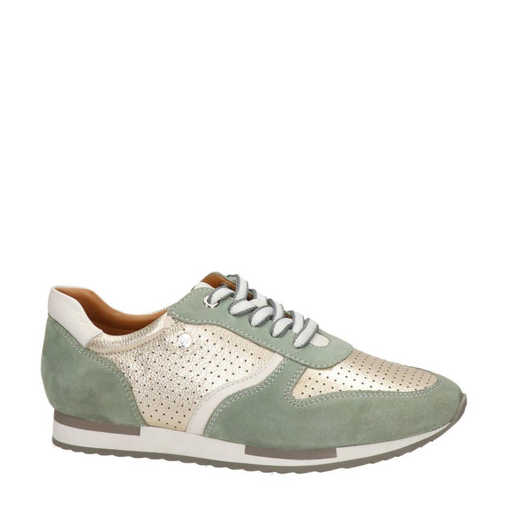 Regarde le ciel Evely  suède sneakers groen/goud, Groen/goud