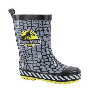 Jurassic World  regenlaarzen zwart/grijs/geel