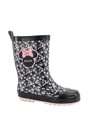 regenlaarzen zwart/roze