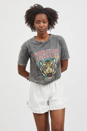 T-shirt VIROCKLES grijs