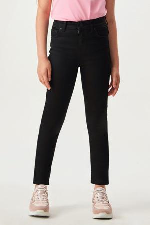 high waist super skinny jeans Sophia black wash