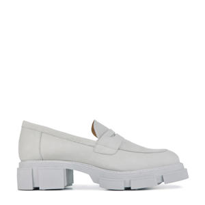78138  chunky nubuck loafers off white