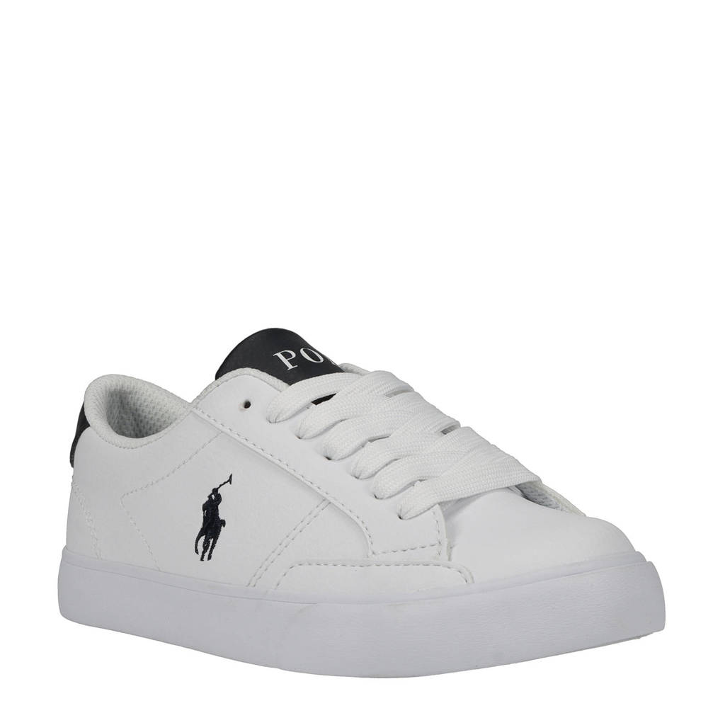 POLO Ralph Lauren Theron IV  sneakers wit/donkerblauw, Wit/donkerblauw