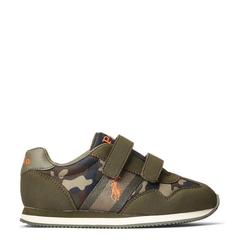 POLO Ralph Lauren Kelland EZ  sneakers met camouflageprint kaki, Kaki