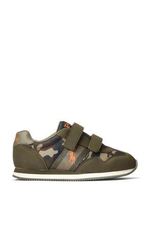 Kelland EZ  sneakers met camouflageprint kaki