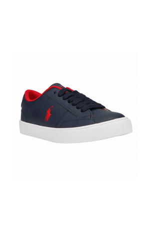 Theron IV  sneakers blauw/rood