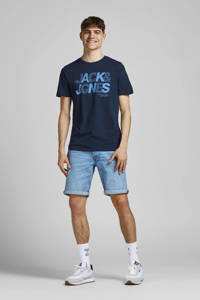 JACK & JONES CORE T-shirt Wire met logo donkerblauw, Donkerblauw