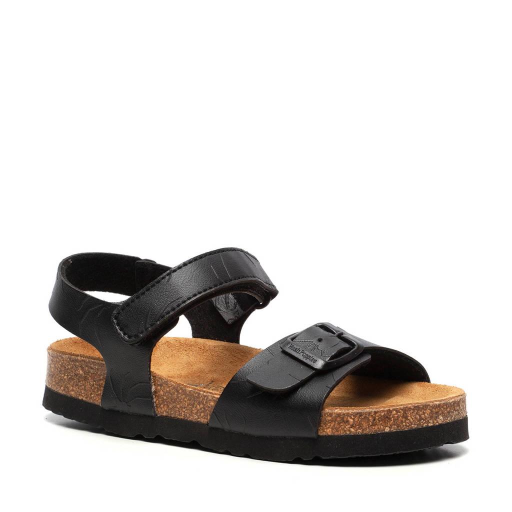 Hush Puppies   sandalen zwart, Zwart