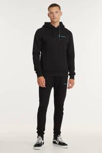 Purewhite hoodie zwart, Zwart