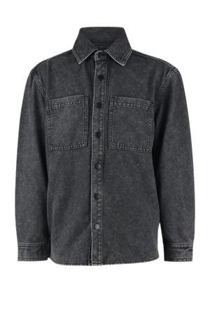denim overhemd Dax black denim