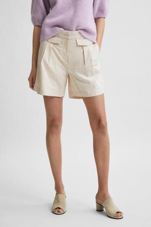 high waist short CECILIE zand