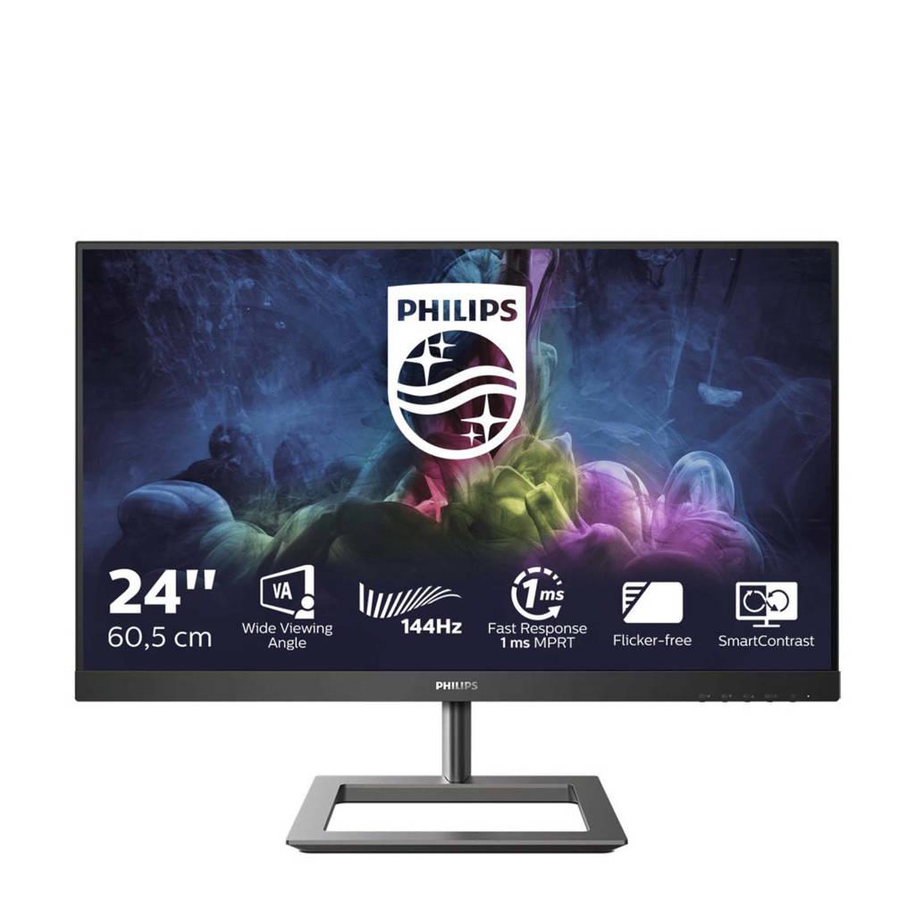 Philips 242E1GAJ/00 monitor, Zwart