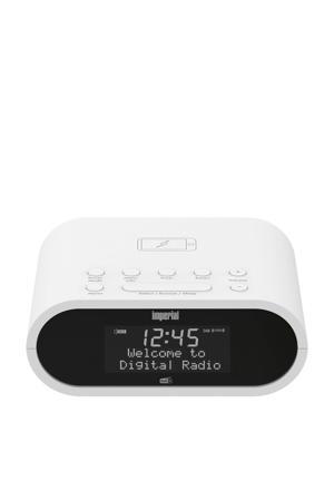 Dabman D20 wekkerradio (wit)