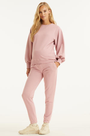 low waist regular fit broek MLDORIT roze