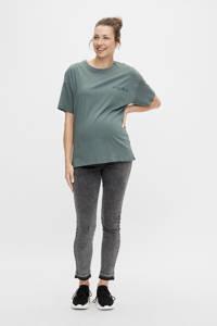 MAMALICIOUS zwangerschapsshirt MLMARYLEE van biologisch katoen groen, Groen