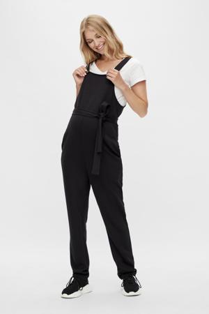 zwangerschapsjumpsuit MLZANE van gerecycled polyester zwart