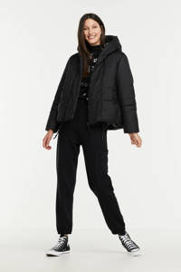 G-Star RAW gewatteerde jas G - Whistler short pdd Jkt van gerecycled polyester zwart, Zwart