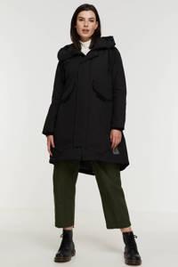 G-Star RAW jas Hooded fishtail parka van gerecycled polyester zwart, Zwart