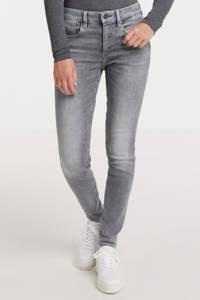 G-Star RAW Lhana Skinny high waist skinny jeans met biologisch katoen un faded glacier grey