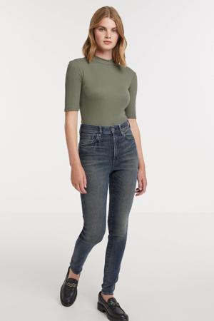Kafey Ultra High Skinny high waist skinny jeans antic nebulas