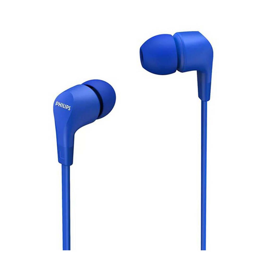 Philips TAE1105BL/00 in-ear hoofdtelefoon (blauw), Blauw