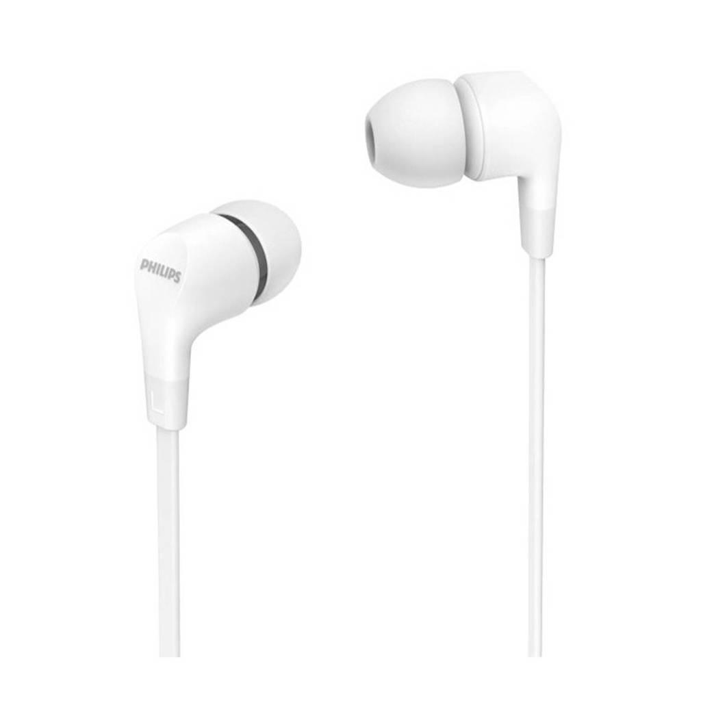 Philips TAE1105WT/00 in-ear hoofdtelefoon (wit), Wit