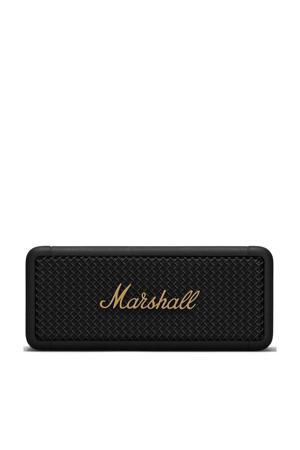 EMBERTON  bluetooth speaker (zwart/messing)