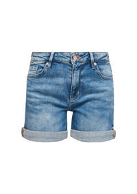 Q/S designed by slim fit jeans short blauw, Blauw