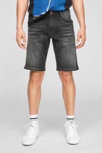 Q/S designed by regular fit jeans short antraciet, Antraciet