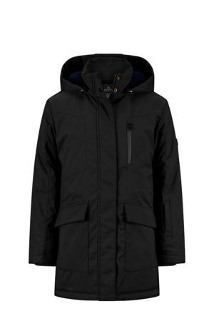 winterjas Silke zwart