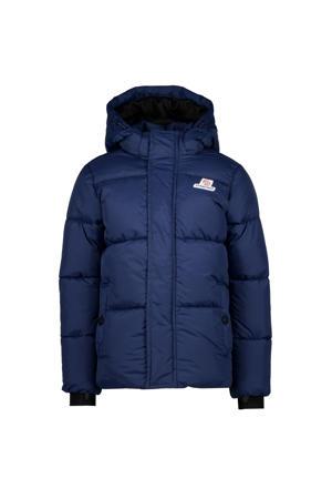 winterjas Tian donkerblauw