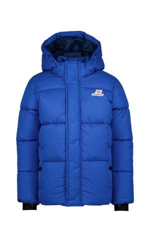 winterjas Tian blauw