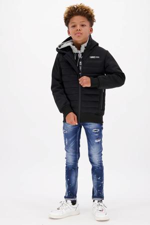 gewatteerde winterjas TEVISI zwart