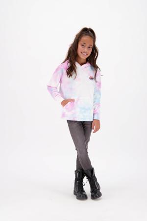 tie-dye sweater Neranne lila/multicolor