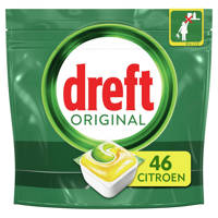 Dreft Original all in one vaatwastabletten lemon - 46 stuks