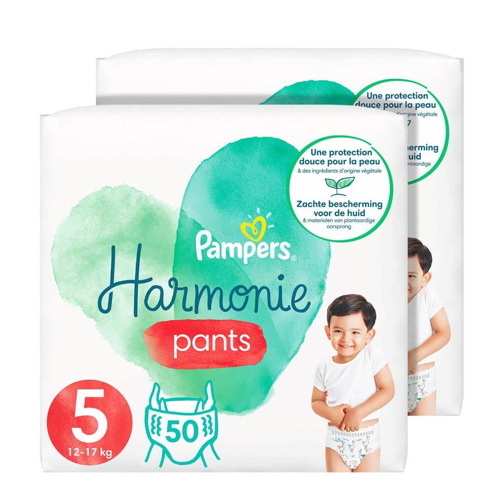 Pampers Harmonie pants maat 5 (12kg-17kg) - 100 Luierbroekjes, 5 (12-17 kg)