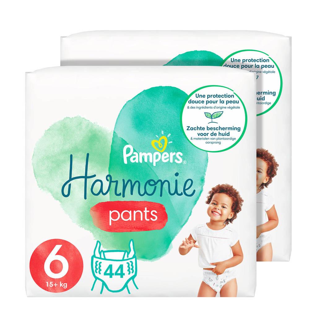 Pampers Harmonie pants maat 6 (15kg+) - 88 Luierbroekjes, 6 (15+ kg)