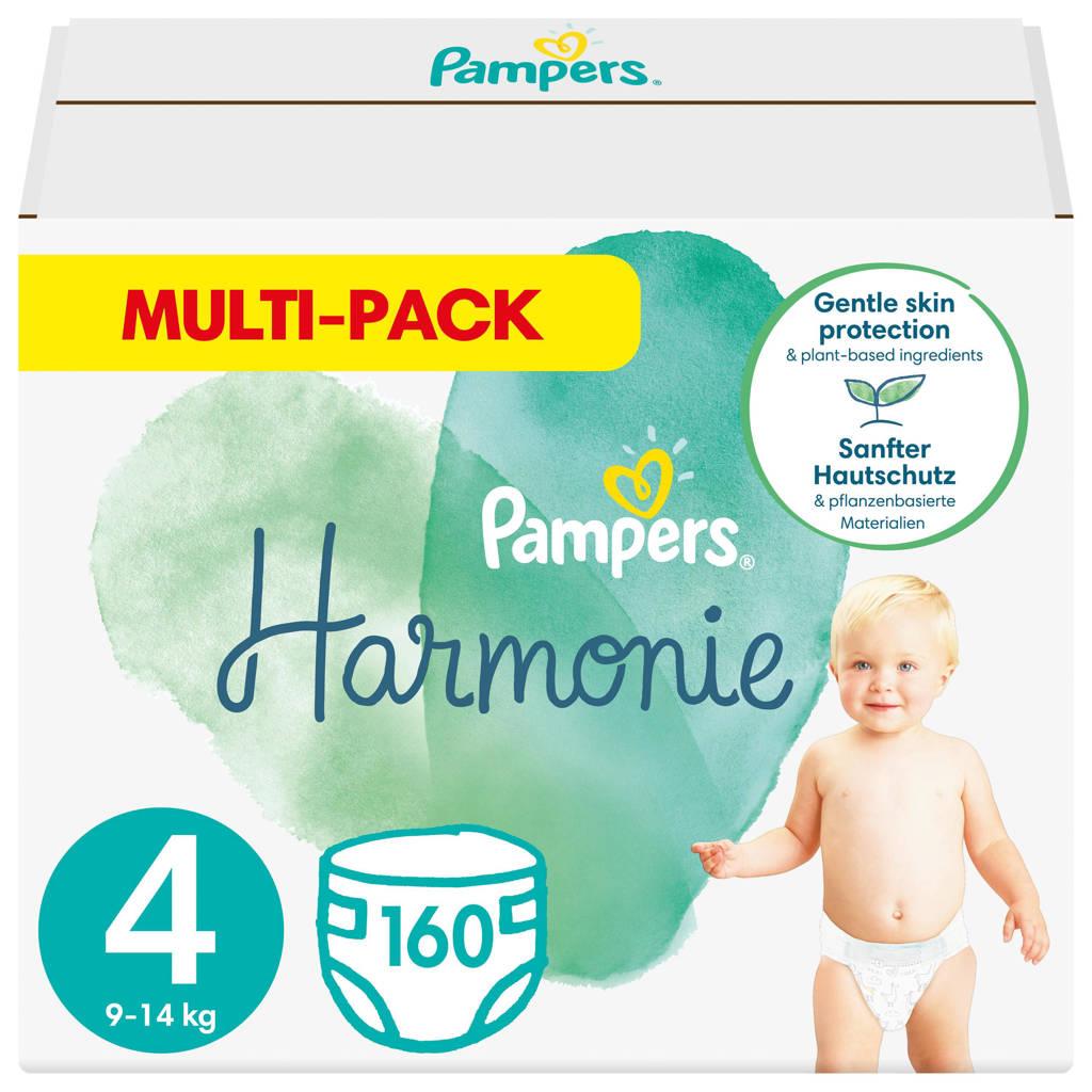 Pampers Harmonie maandbox maat 4 (9kg-14kg) - 160 Luiers, 4 (9-14 kg)