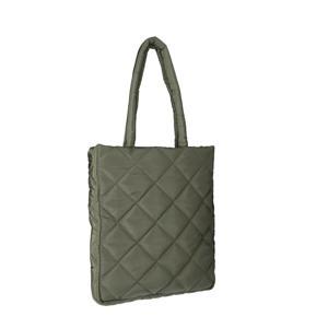 padded shopper groen
