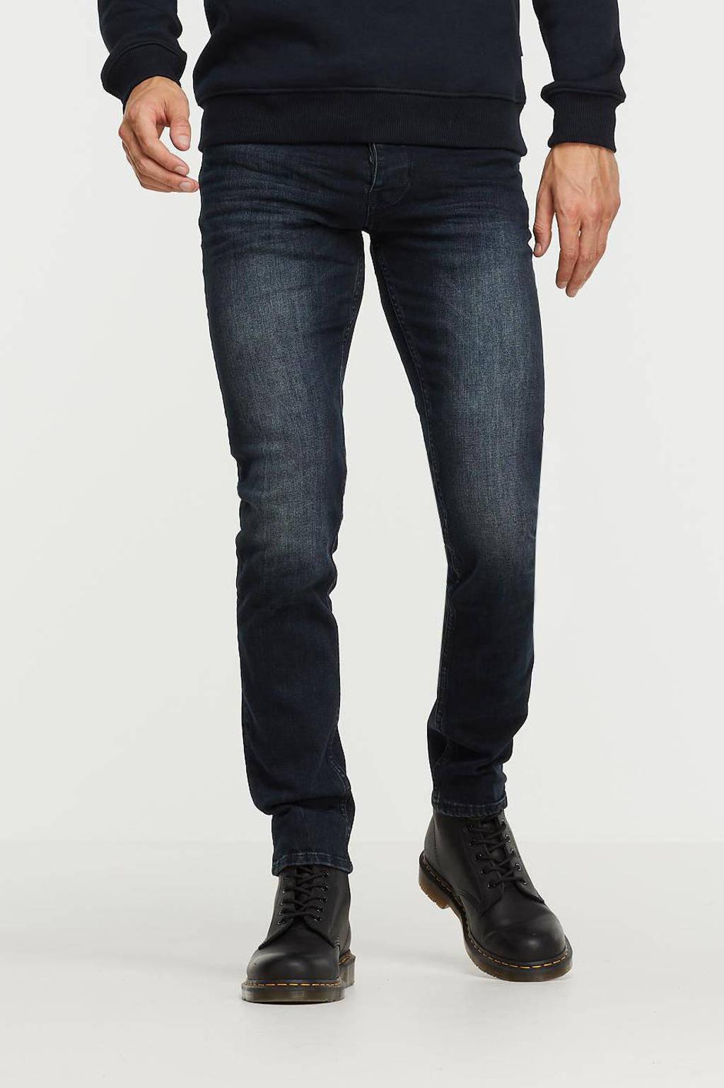 Purewhite slim fit jeans The Stan W0103 denim dark blue, Denim Dark Blue