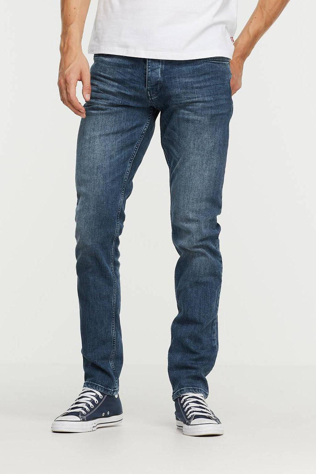 Purewhite slim fit jeans The Stan W0104 denim mid blue, Denim mid blue
