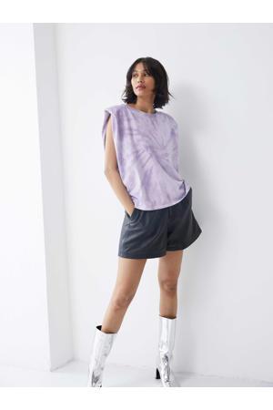 tie-dye T-shirt Amaze van biologisch katoen lila