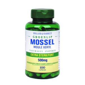 groenlipmossel 500MG - 100 capsules